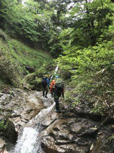 赤倉沢の滝